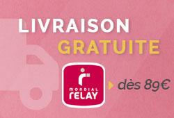 Livraison Gratuite à partir de 89€ avec Mondial Relay