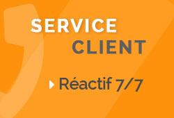 Service Client Réactif 7/7
